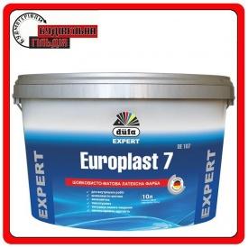 Износостойкая латексная краска Europlast 7 DE107 10л