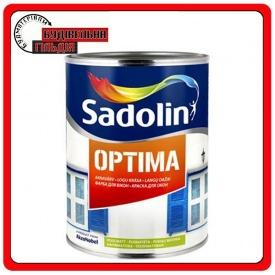 Нестекающая краска для окон OPTIMA Sadolin белая 2,5л