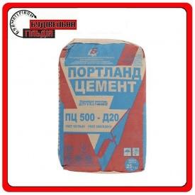Цемент Беларусь ПЦ IIА-Ш-500 (Д-20) 25 кг