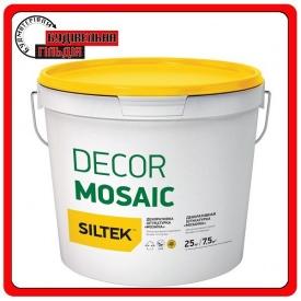Штукатурка декоративная мозаика Siltek Decor Mosaic 25кг