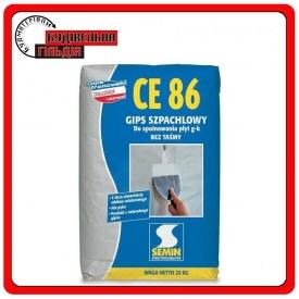 Semin CE-86 Шпаклівка для заповнення швів ГКЛ 25 кг