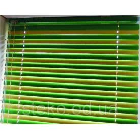 Горизонтальні жалюзі кольорові 25 мм