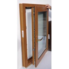 Металлопластиковое окно Steko R-500 золотой дуб