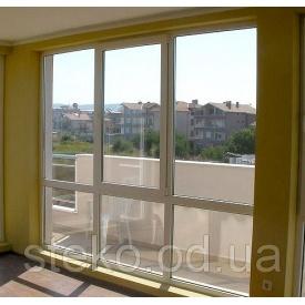 Тёплое панорамное окно Steko R700