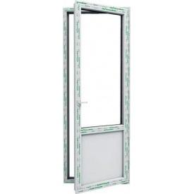 Пластиковая балконная дверь Steko замок ключ-ключ рефлекторное