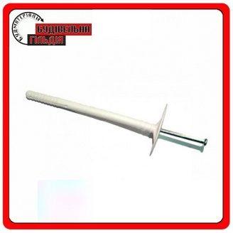 Дюбель 10х160 металлический гвоздь с термоголовкой (Украина) уп. 50 шт