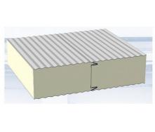 Сендвіч-панель для холодильних і морозильних камер 80 мм пінополіуретан PUR