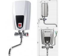 Проточный водонагреватель ELDOM Смеситель 3500 Вт