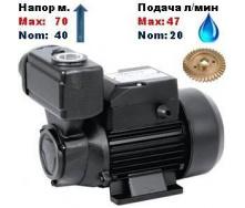 Насос вихревой самовсасывающий SPRUT TPS-70 40/70 м 20-47 л/мин