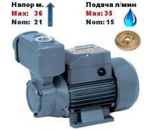 Насос вихревой самовсасывающий TPS-60 Насосы+ 21/36 м 15-35 л/мин