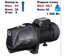 Насос центробежный самовсасывающий JSP-355A Sprut 54/36 м 40-66,7 л/мин 220 В 1200 Вт