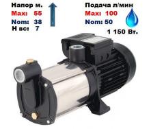 Насос центробежный многоступенчатый MRS-5 Sprut 38/55 м 50-100 л/мин 220 В 1150Вт