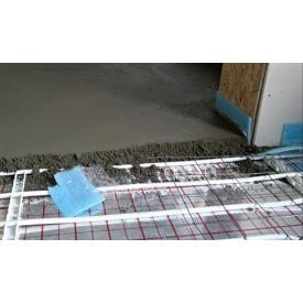 Устройство бетонной стяжки 20 мм