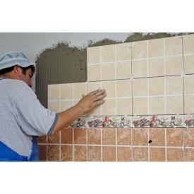 Облицювання поверхонь стін керамічними плитками