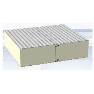 Стеновая сендвич-панель Стилма 100 мм с наполнителем пенополиизоцианурат PIR