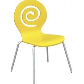 Дерев`яний стілець СДМ Лев 820х480х430 мм жовтий