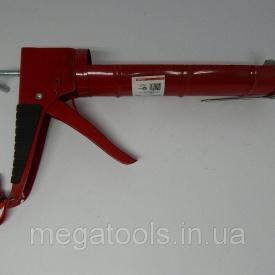 Пистолет для выдавливания силикона 225 мм Intertool
