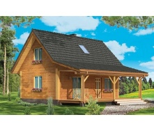 Стильний каркасний будинок 80 м2 комплектація під ключ