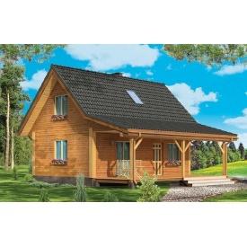 Стильный каркасный дом 80 м2 комплектация под ключ