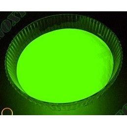 Светящийся люминисцентный порошок Просто и Легко 20 г зеленый