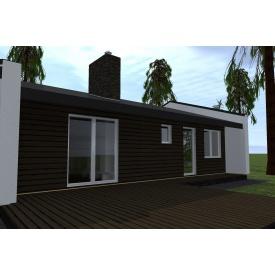 Концептуальный дом OmniSpace 76 комплектация Flat Pack