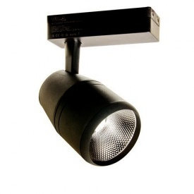 Трековий світлодіодний світильник Vela VL-COB-206L 20W чорний