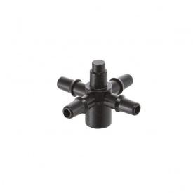 Адаптер для крапельниць Presto-PS на 4 виходи для краплинної трубки 3,5 мм в упаковці - 10 шт (5135)