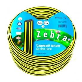 Шланг поливочный Presto-PS садовый Зебра 3/4 дюйма 20 м (ZB 3/4 20)