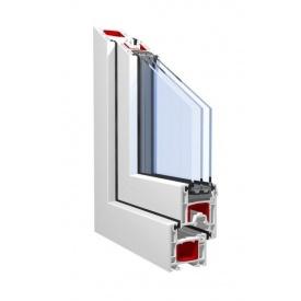 Вікно металопластикове Kӧmmerling 70 plus ST 70 мм 150х150 см