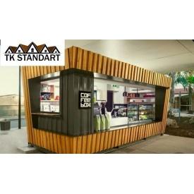 Каркасний магазин 3х6м під ключ