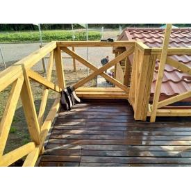 Виготовлення декоративних перил для терас і балконів