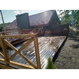 Будівництво дерев`яних терас