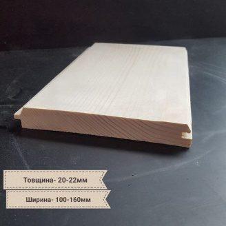 Фальшбрус дерев`яний 27х160 мм