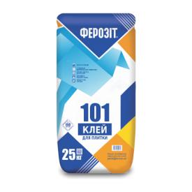 Клеевая смесь Ферозит 101 для плитки 25 кг