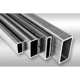Труба алюминиевая профильная АД31 25х20х1,5мм