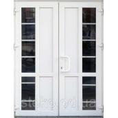 Двох-стулкові Пластикові вхідні двері Steko 1300x2050