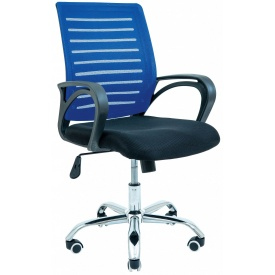 Кресло офисное Richman Флеш 940х1030х490х520 мм синее