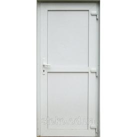Пластикові вхідні двері глухі Steko 900x2050