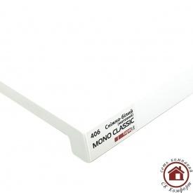 Підвіконня Topalit Mono Classic 450 мм Сніжно білий матовий (406)