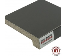 Подоконник Werzalit Exclusiv 200 мм Темно-серый (420)