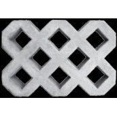 Газонная решетка Zabor-Perfecto 600х400х80 мм серая