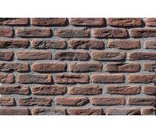 Фасадна плитка Loft Brick МФ 50 Карбон темно-червоний 190x50 мм