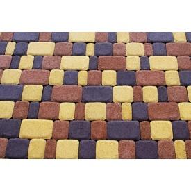 Плитка тротуарная сухопрессованная Zabor-Perfecto Старый город 3 элемента 40 мм