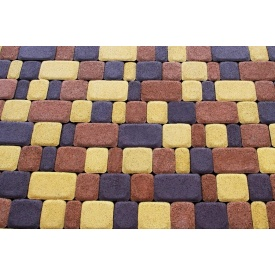 Плитка тротуарна сухопресована Zabor-Perfecto Старе місто 3 елементи 60 мм