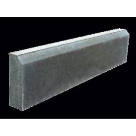 Тротуарный камень сухопрессованый Zabor-Perfecto 1000х200х80 мм серый