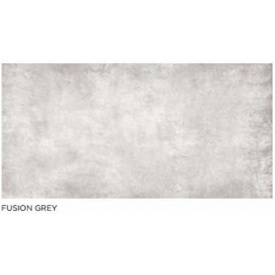 Плитка для фасада Fusion Grey глазурованная ректифицированная 1200х600 мм