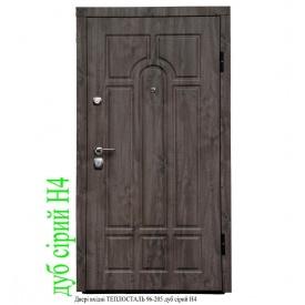 Двери входные ТЕПЛОСТАЛЬ 96-205 дуб серый Н4