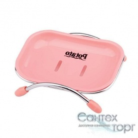 Мыльница для ванны пластиковая прямоугольная Potato P201