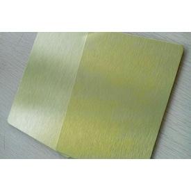 Алюмінієва композитна панель Aluprom 3 мм золото 1250x5600 мм