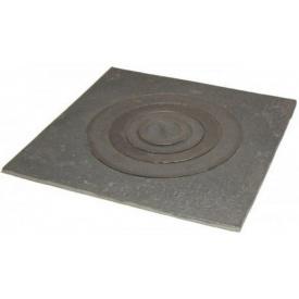 Плита чавунна одноконфорочная 410x370 мм